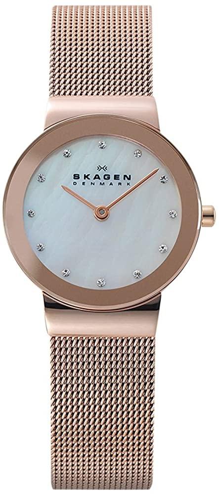 Skagen Women's Ancher Stainless Steel Mesh Dress Quartz Watch