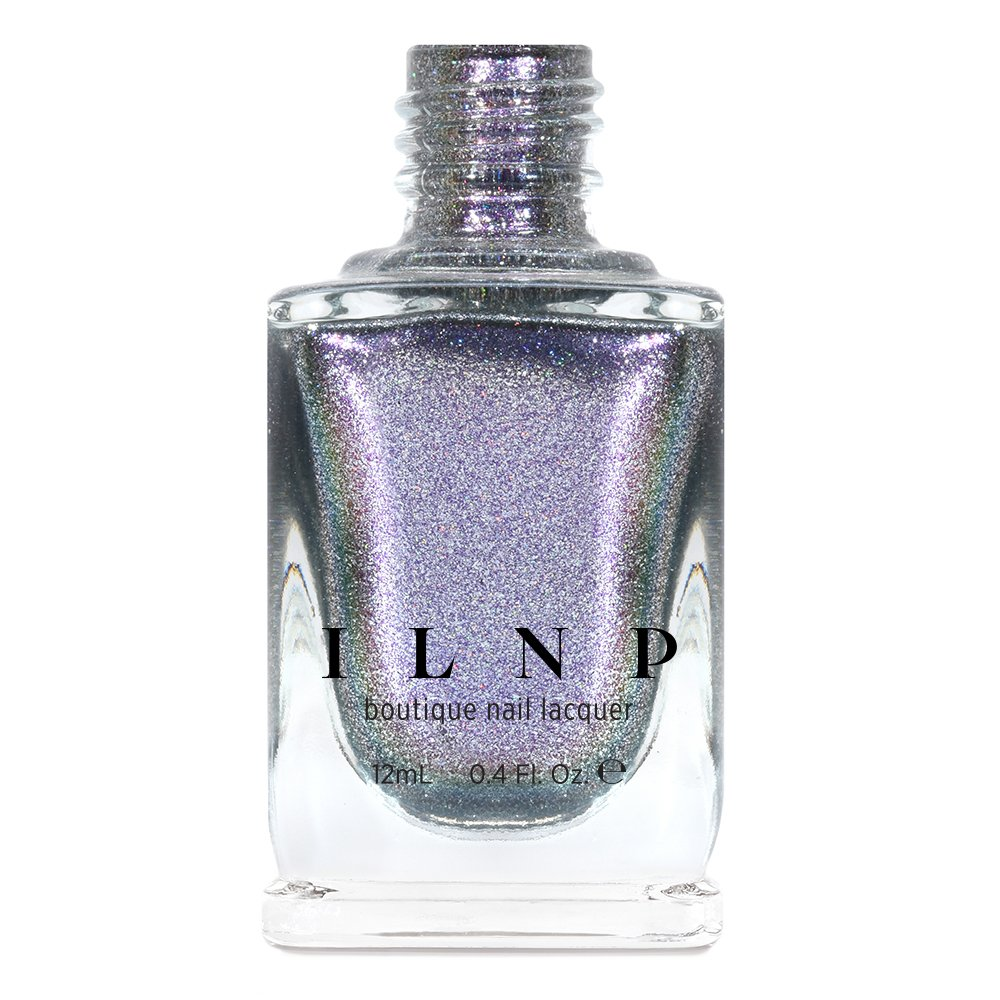 ILNP Play Hard - Alluring Silver Metallic Color Shifting Nail Polish