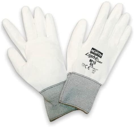 7 Light Task Polyurethane Coated Work Gloves With Nylon Liner