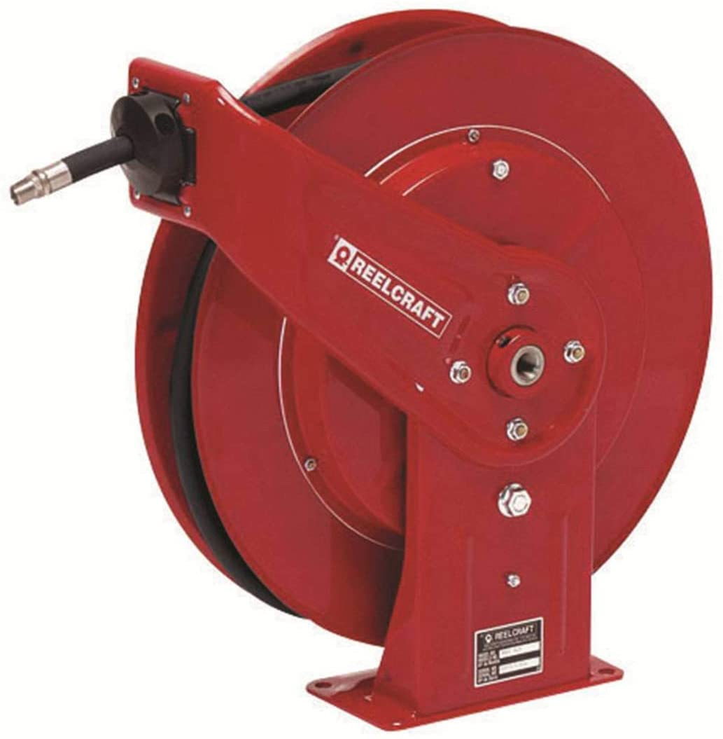 Reelcraft 7000 Series Spring Retractable Hose Reel For 1/2