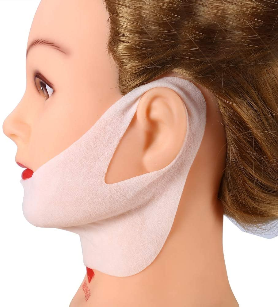 Boquite V Line Mask, Lifting Facial Mask V Shape Face Slim Chin Check Neck Lift Peel-Off Mask - Lifting Firming - 2Pcs