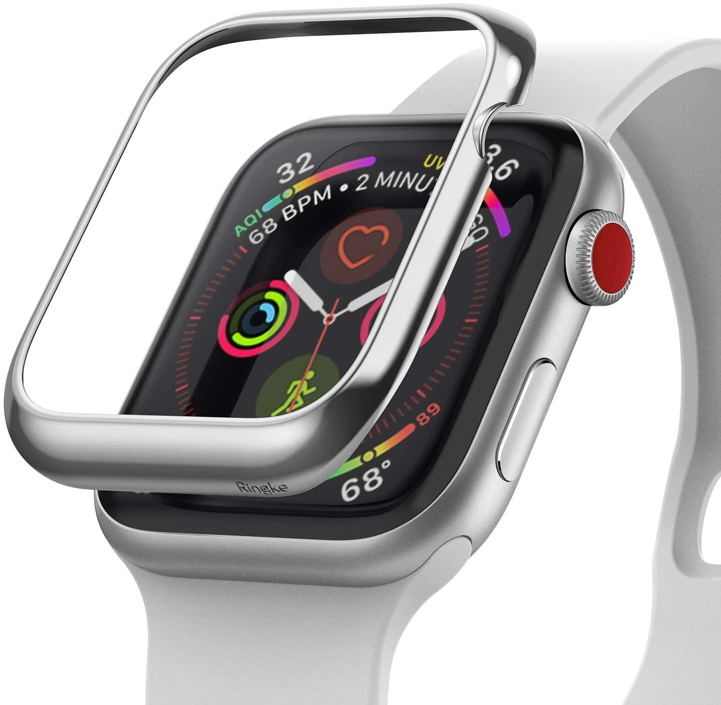 Ringke Bezel Styling Case Designed for Apple Watch 3, Apple Watch 2, Apple Watch 1 (38mm) Full Stainless Steel Frame Case - AW3-01