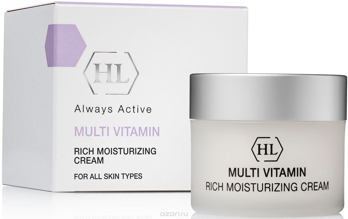 HL MultiVitamin Rich Moisturizing Cream 1.7 fl.oz, For All Skin Types