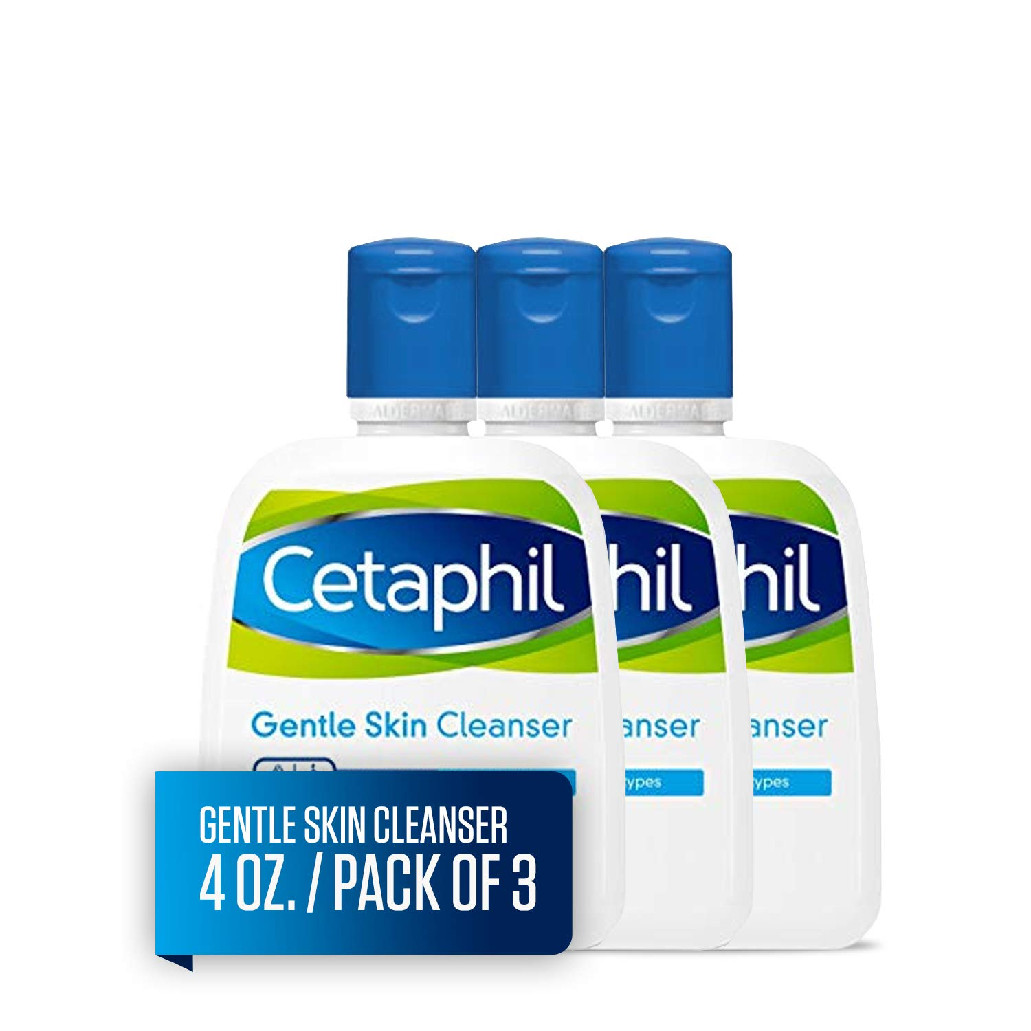 Cetaphil Gentle Skin Cleanser   4 fl oz (Pack of 3)   Hydrating Face Wash & Body Wash   Ideal for Sensitive, Dry Skin   Non-Irritating   Won't Clog Pores   Fragrance-Free   Dermatologist Recommended