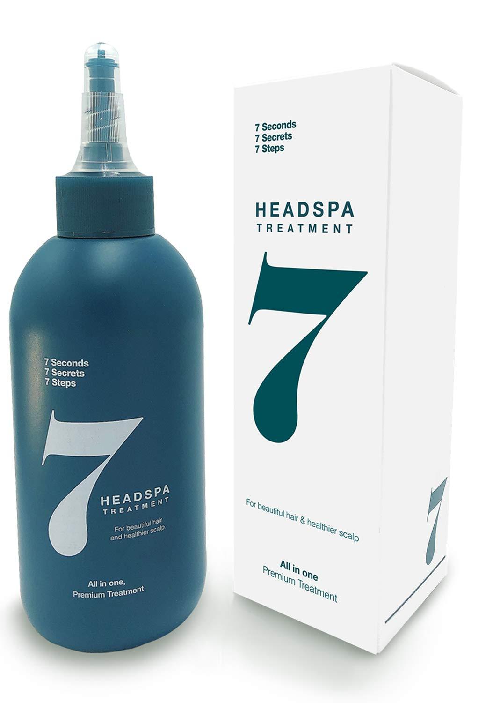 HeadSpa7- Anti Hair Loss Treatment, 6.76 Fl Oz(200ml)/Hair Growth Conditioner Treatment for Hair thickening - Natural hair regrowth and Volumizing, hair mask, Deep Scalp Treatment for Damaged hair
