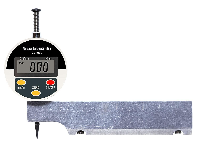 Western Instruments N88-6M-D Digital Reaching Plus Magnetic Pit Gauge, 6