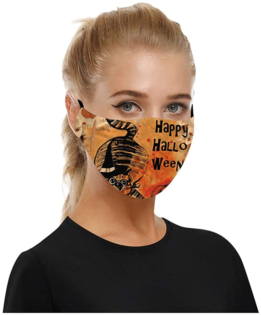 1PC Halloween Dustproof Face_Mask Outdoor Riding Quick-drying Face_Mask