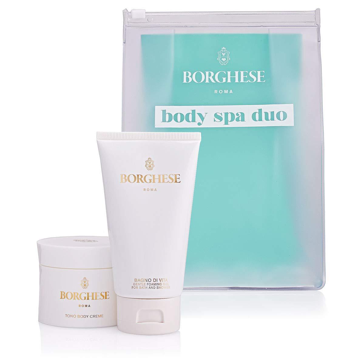 Borghese Body Spa Duo - Body Gel & Body Cream - 2 Count