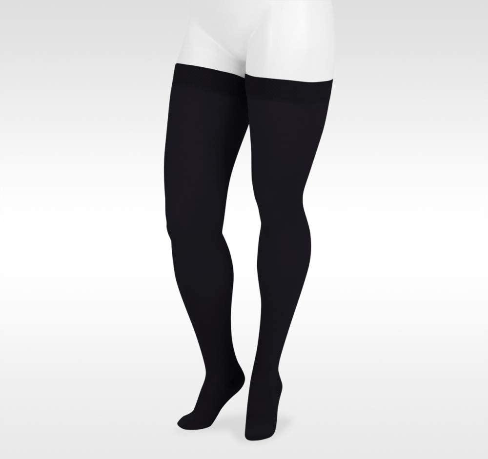 Juzo Dynamic Varin 3511 Thigh-High 20-30mmhg Silicone Top Band Closed Toe Sock