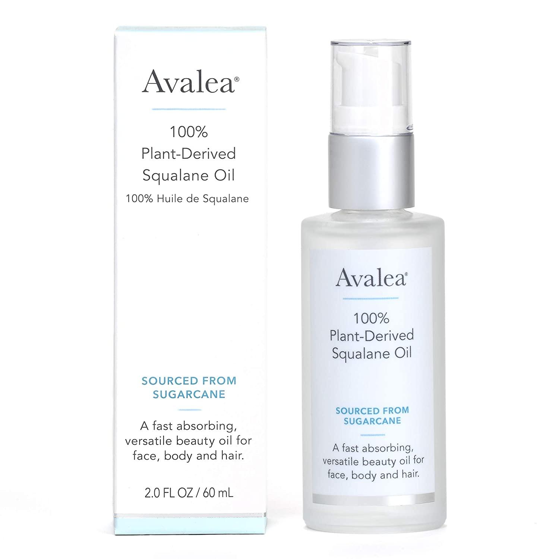 Avalea Squalane Oil 100% Pure Moisturizer, 2.0 fl.oz.