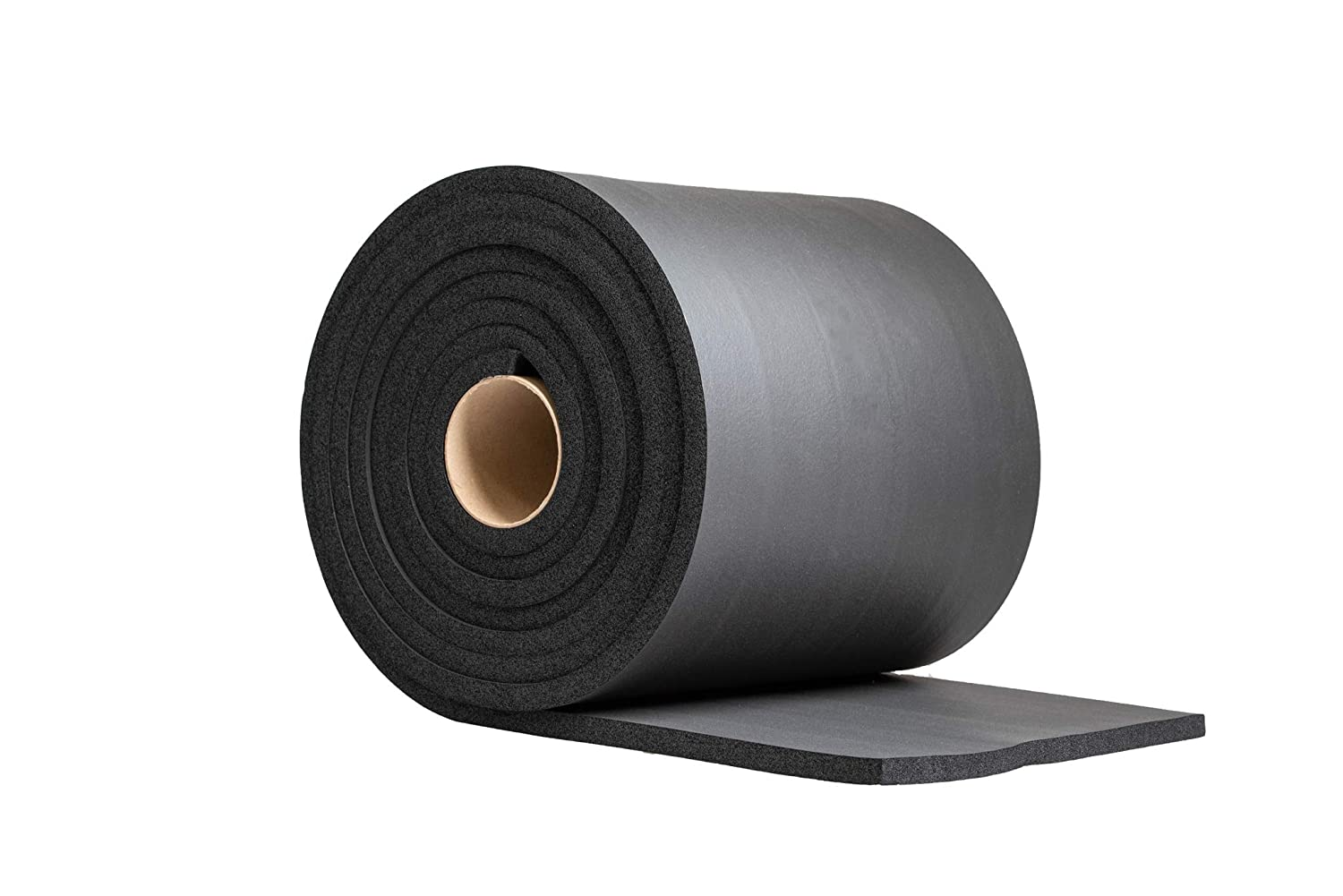 Rubber mat Rubber Sheet (1/2 inch Thick X 12 inch Wide X 15ft) Soft Sponge Rubber Easy Cut Multi-Function Soundproof Padding DIY Project Sheet OKAYASU RUBBER E05ES01