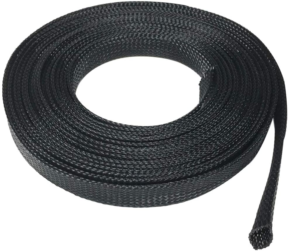 Seismic Audio - EBS1250Black- 50 Foot Black 1/2