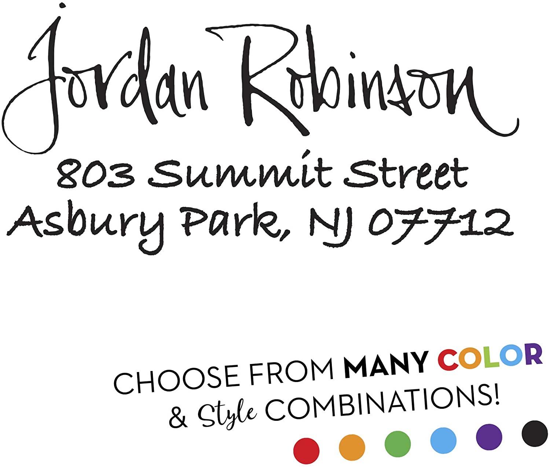 Custom Return Address Stamp - Style RA247