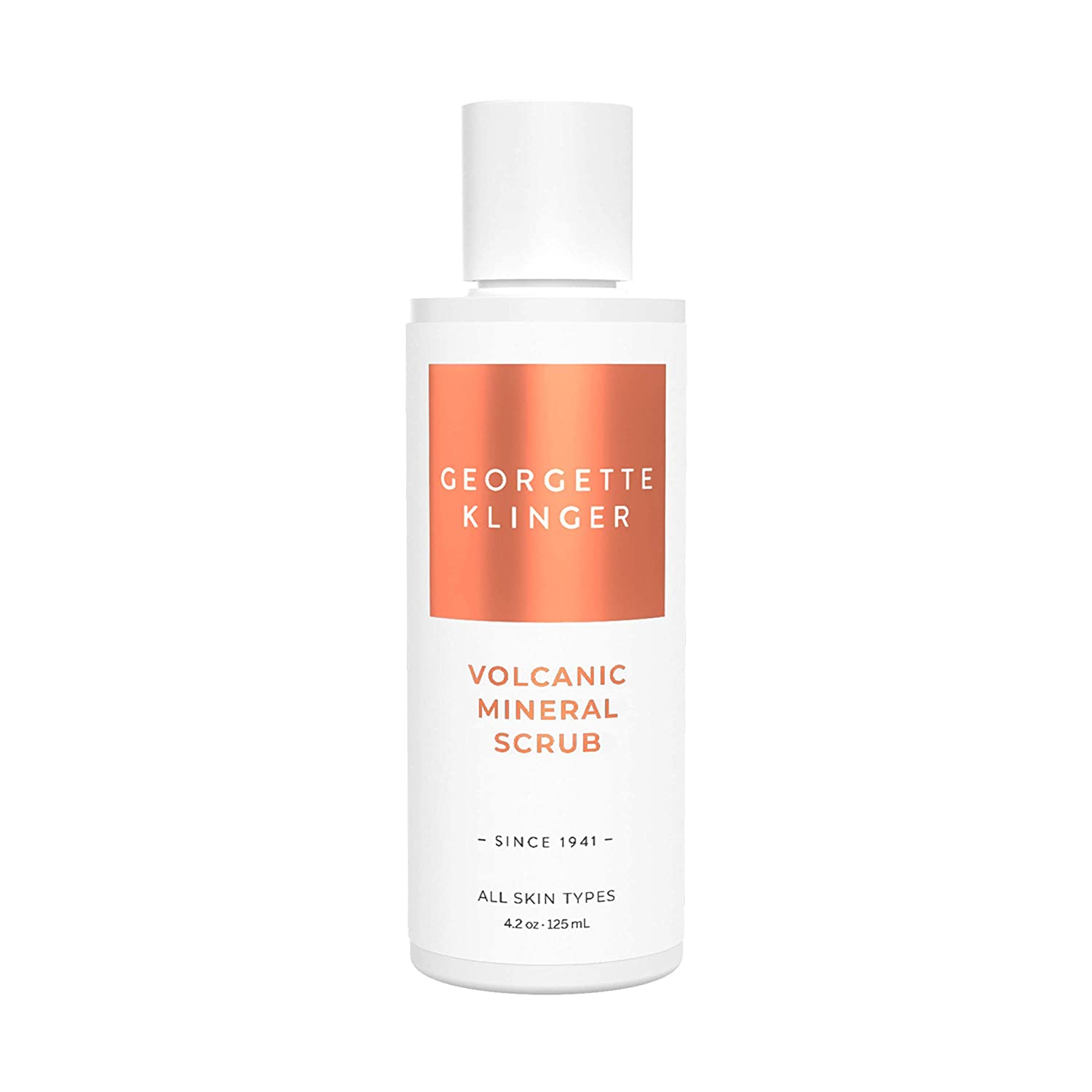 Volcanic Mineral Face Scrub By Georgette Klinger Skin Care Non Abrasive Gentle Exfoliating Facial Wash W/Natural Green Tea Extract For All Skin Types