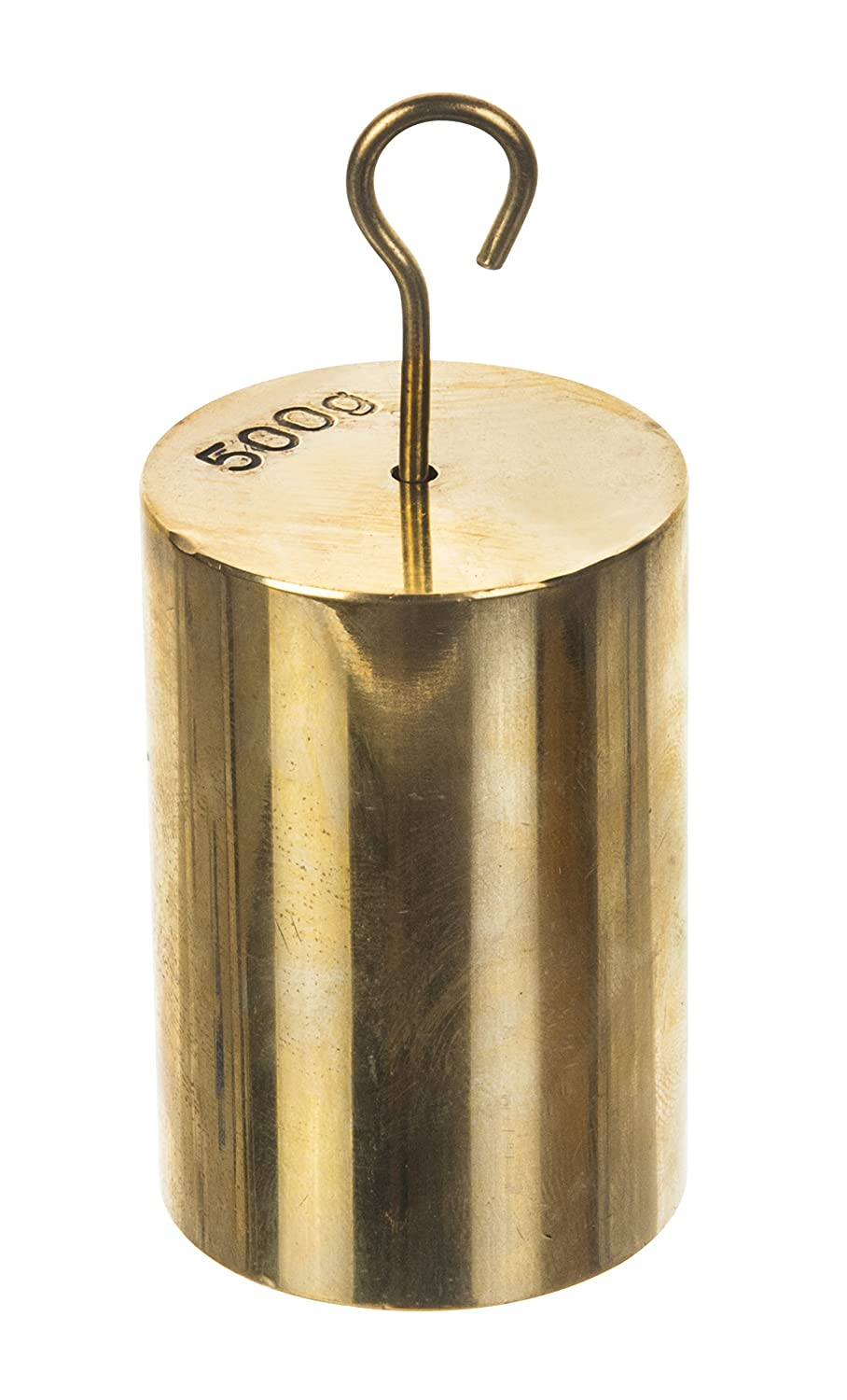 Double Hooked Weight Brass 500 Grams (1.10 Lbs.) Eisco Labs