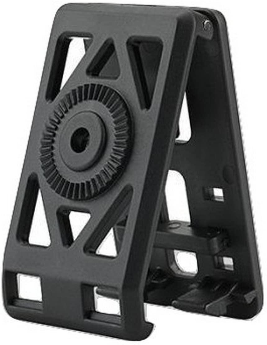 Tactical Scorpion Gear Polymer Quick Mount Clamshell Belt Clip Adjustable Black
