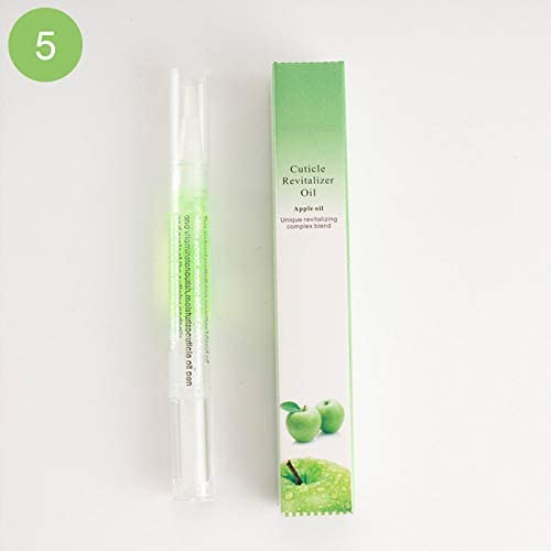 lzndeal Oil Pen for Nails, Oil Pen for Nails Cuticle Protection Essence Pen Manicure Nail Nourishing Pen Cutin Soften