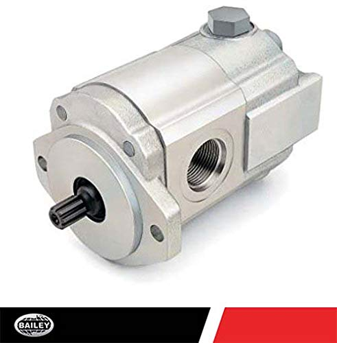Concentric/Haldex Gear Pumps (W900 Series): 0.671 CID, 9.4 @ 2000 RPM and 4000 Max RPM, 4000 PSI, SAE 12 Side Inlet Ports, 2-Bolt A (3/4'' Dia) Mounting, SAE 10 Side Outlet Ports, CW Rotation, 250938
