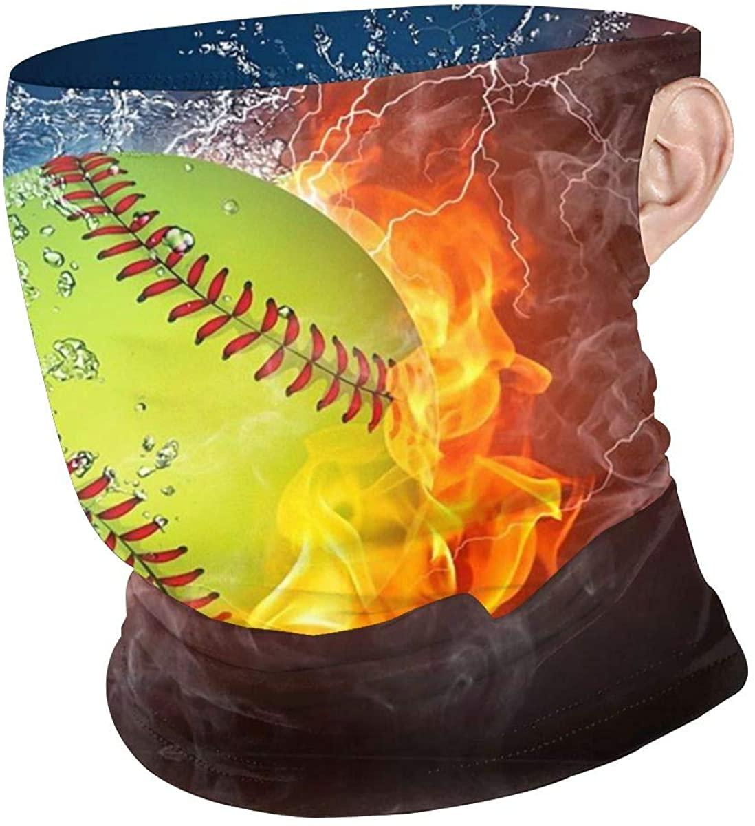 Neck Gaiter Face Scarf Bandana Summer UV Protection Face Cover Dustproof-mask for Women Men Outdoor Sports