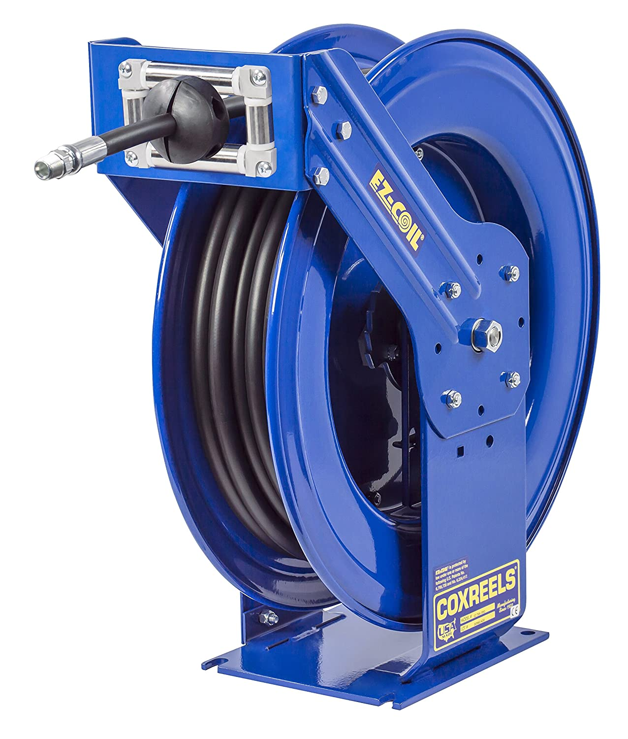 Coxreels EZ-TMP-550 Safety Series Truck Mount Spring Rewind Hose Reel for air/water: 3/4