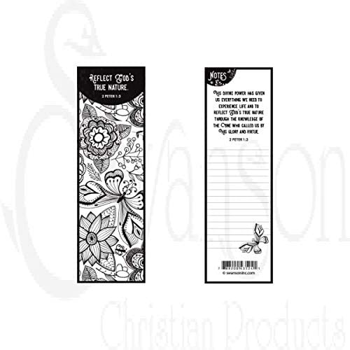Coloring Bookmark -
