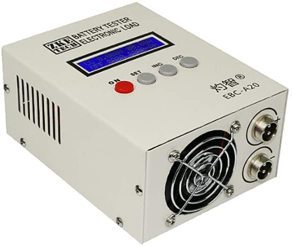 Lithium/Lead Acid Battery Capacity Tester Charge 5A Dischage 20A Electronic Load EBC-A20