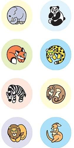 Teacher Created Resources Zoo Animals Mini Stickers, Multi Color (4080)