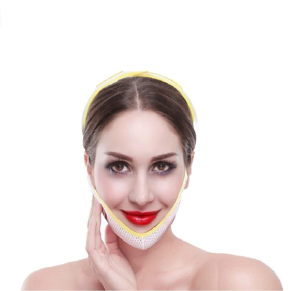 Face Lift, Facial Beauty Tool Slimming Mask Face Bandage For Women Remove Double Chin V-line Lift and Anti-wrinkle Facial Skin Care(M)