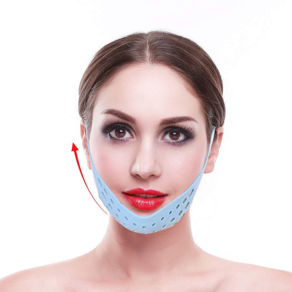 Face Lifting Mask, Face Contour Lifting Firming Mask Facial Belt Bandage