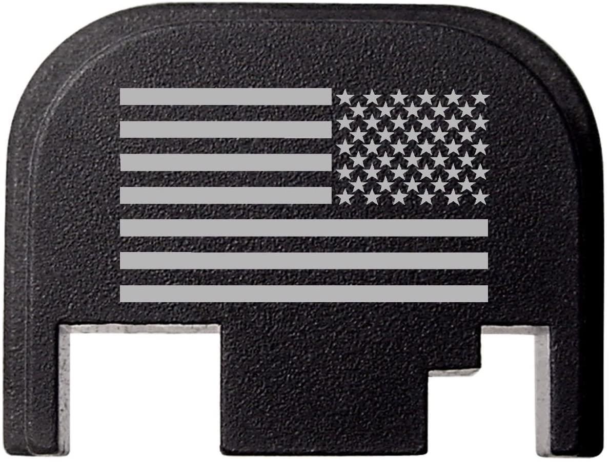 for Glock Back Plate Gen 1-4 17 19 21 22 23 27 30 34 36 41 NDZ Black - Choose Your Design
