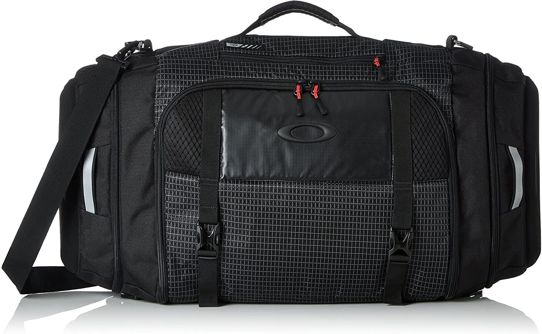 Oakley Mens Link Duffel Bag One Size Jet Black