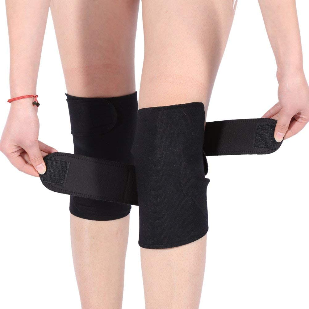DEWIN Knee Support - Tourmaline Self-Heating Magnetic Therapy Knee Protective Belt, Arthritis Brace Support, 1 Pair