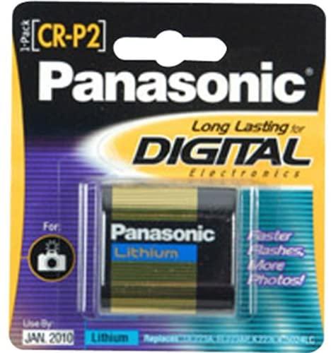 2T44288 - Panasonic CR-P2 Photo Lithium Battery Pack
