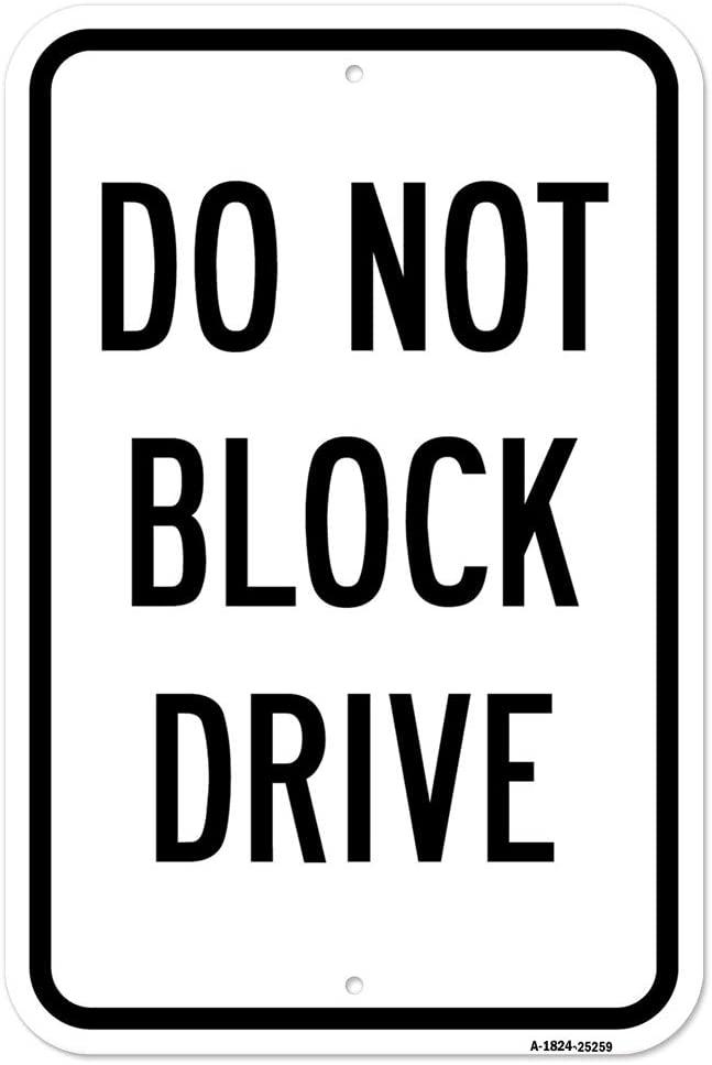 Do Not Block Drive   18