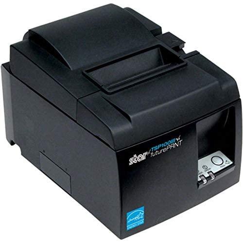 Bluestar 39461110 STAR MICRONICS, TSP143U GRY, THERMAL, PRINTER, 2 COLOR, CUTTER, INCLUDES USB CAB