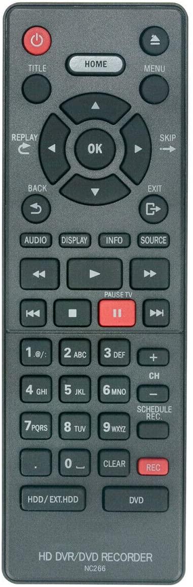 NKF NC266UH Remote for Magnavox DVD MDR868H MDR868H/F7 MDR865H MDR865H/F7 MDR867H