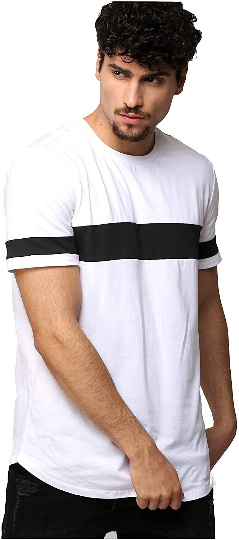 AELOMART Men's Cotton T Shirt