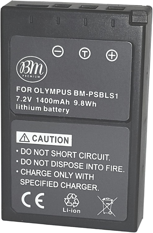 BM Premium BLS-1 BLS-5 Battery for Olympus E-P3, E-PM1, E-PL1, E-PL2, E-PL3, E-PL5, E-PL7, OM-D, E-M10, Stylus 1 Digital Camera