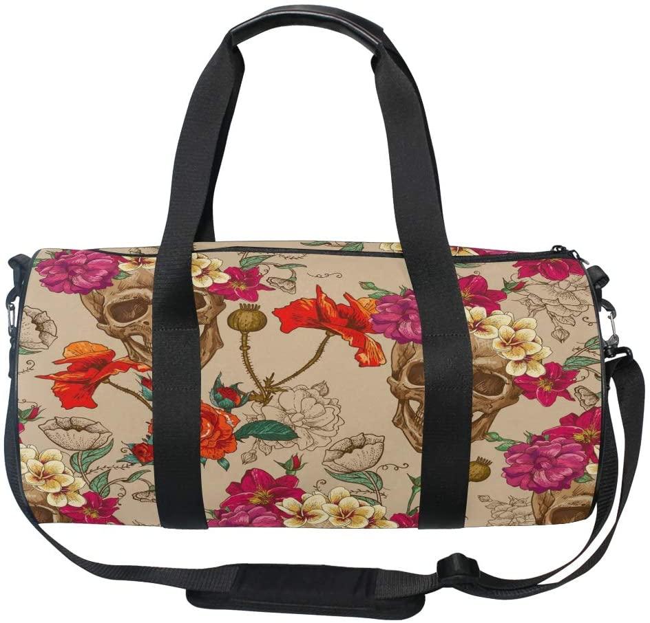 Use4 Space Nebula Galaxy Cloud Star Travel Duffel Bag Sport Gym Luggage Bag for Men Women
