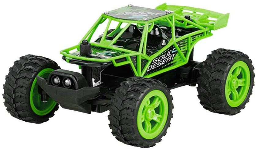 isilky Remote Control Car, Terrain RC Cars, Electric Remote Control Off Road Monster Truck, 1: 32 Scale 2.4Ghz Radio 4WD Fast 30+ Mph RC Car, with 3.7V 100mAh Rechargeable Battery Pack