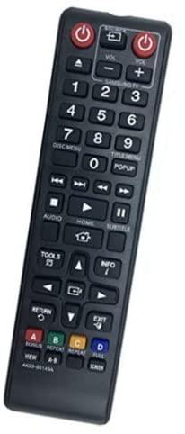 RJMom New AK59-00149A Remote for Samsung Blu-Ray BD-FM57C BD-HM59 BD-JM51 BD-J5100