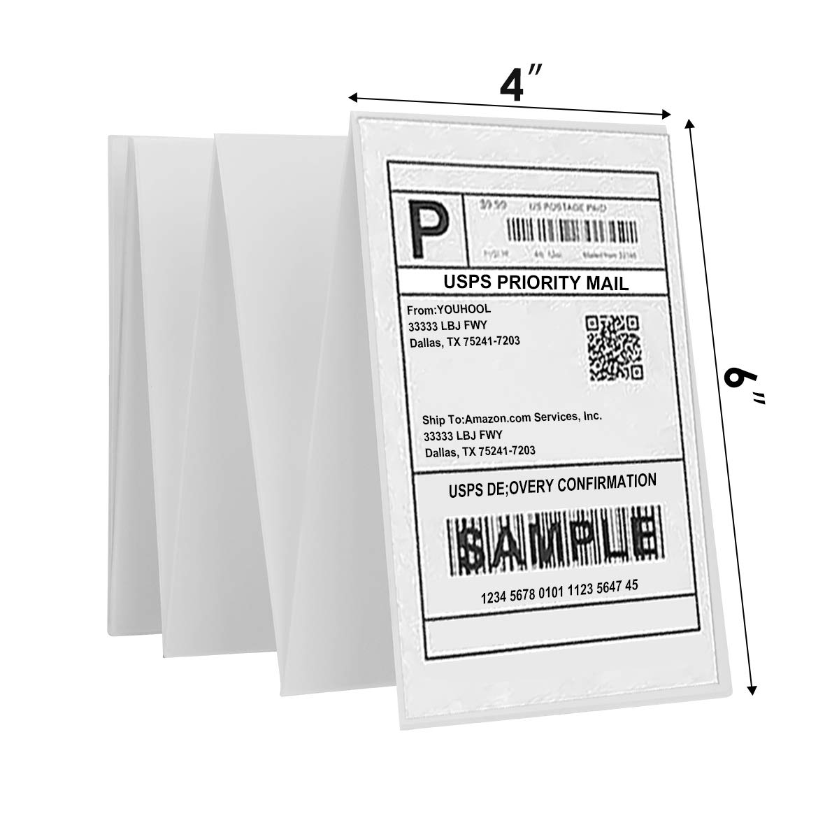 YOUHOOL Shipping Labels 4