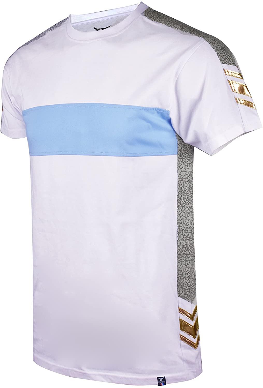 Screenshotbrand Mens Hipster Hip-Hop Premium Tees - Stylish Longline Latest Fashion T-Shirt