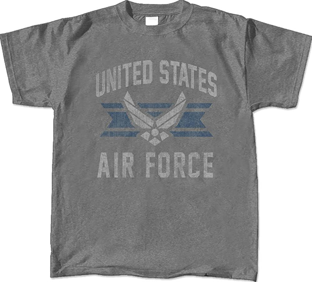 Armed Forces Depot U.S. Air Force Vintage Distressed Logo T-Shirt