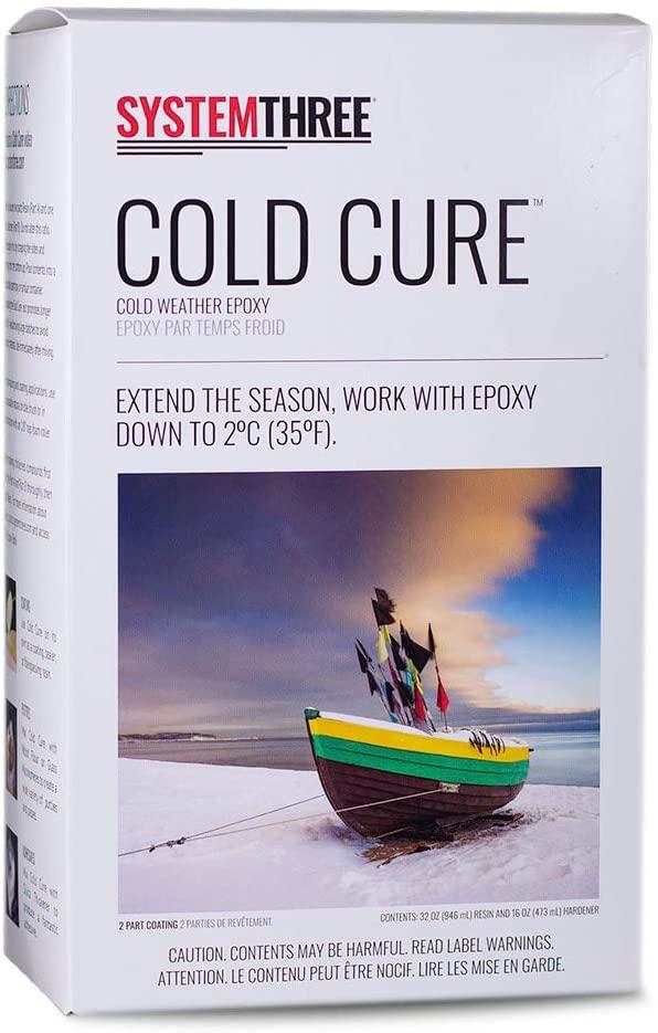 System Three F1000K42 Cold Cure Kit, 1.5 Quarts, Amber