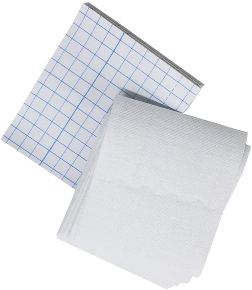 Milisten 50pcs Adhesive Wound Dressing Non-Woven Gauze Pad Sponge First Aid Bandaging Pads 12x12cm