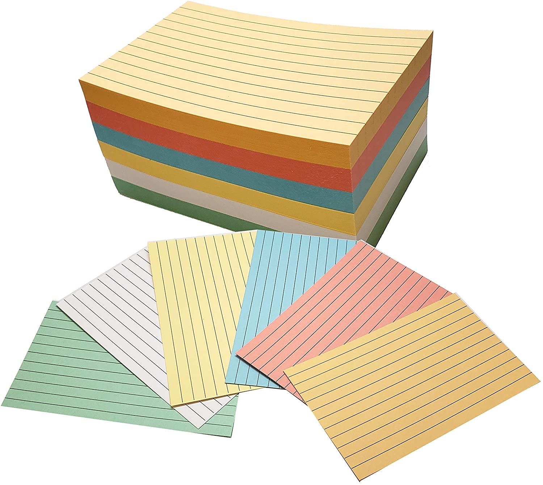 Debra Dale Designs 90# Index Cards - Ruled - Unpunched - 3