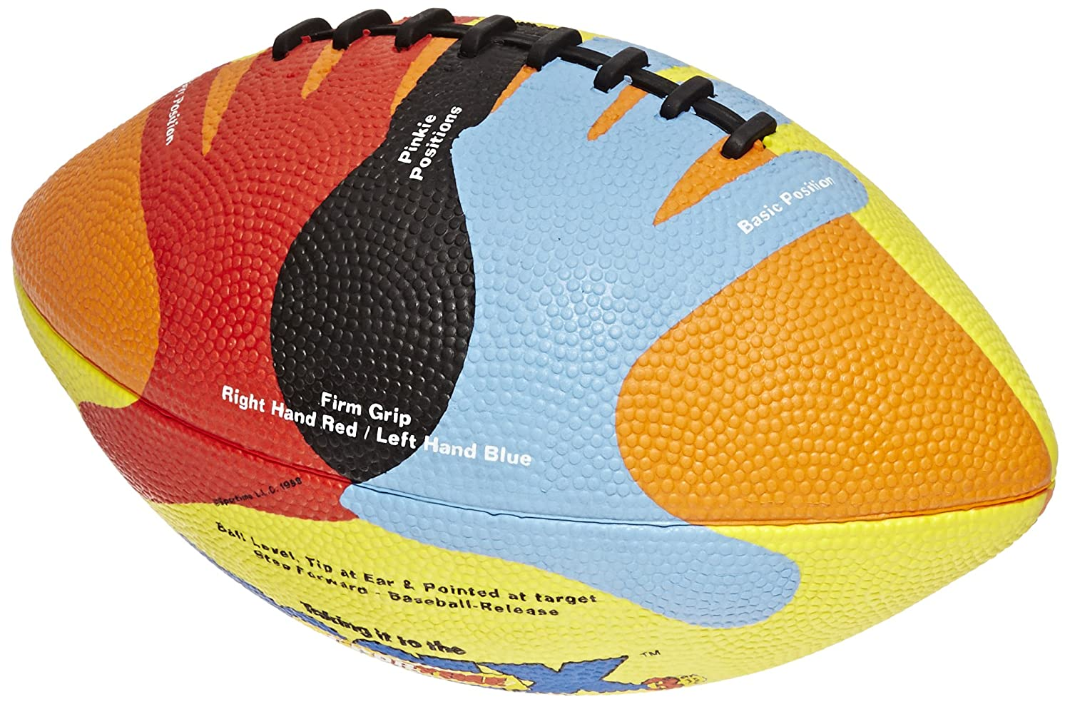 SportimeMax Hands-On Junior Size 6 Football, Multiple Colors