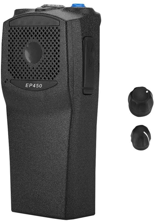 KSTE Front Shell Replacement Fit for Motorola Ep450 Two Way Radio Dust-Proof for Walkie Talkie