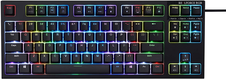 Realforce R2 RGB Keyboard (Mid Size)